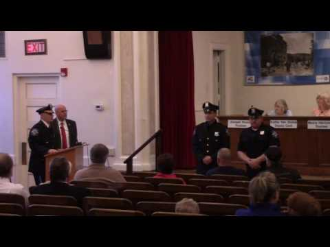 2016-05-09 Suffern Police Department 2016 Lifesaving Awards
