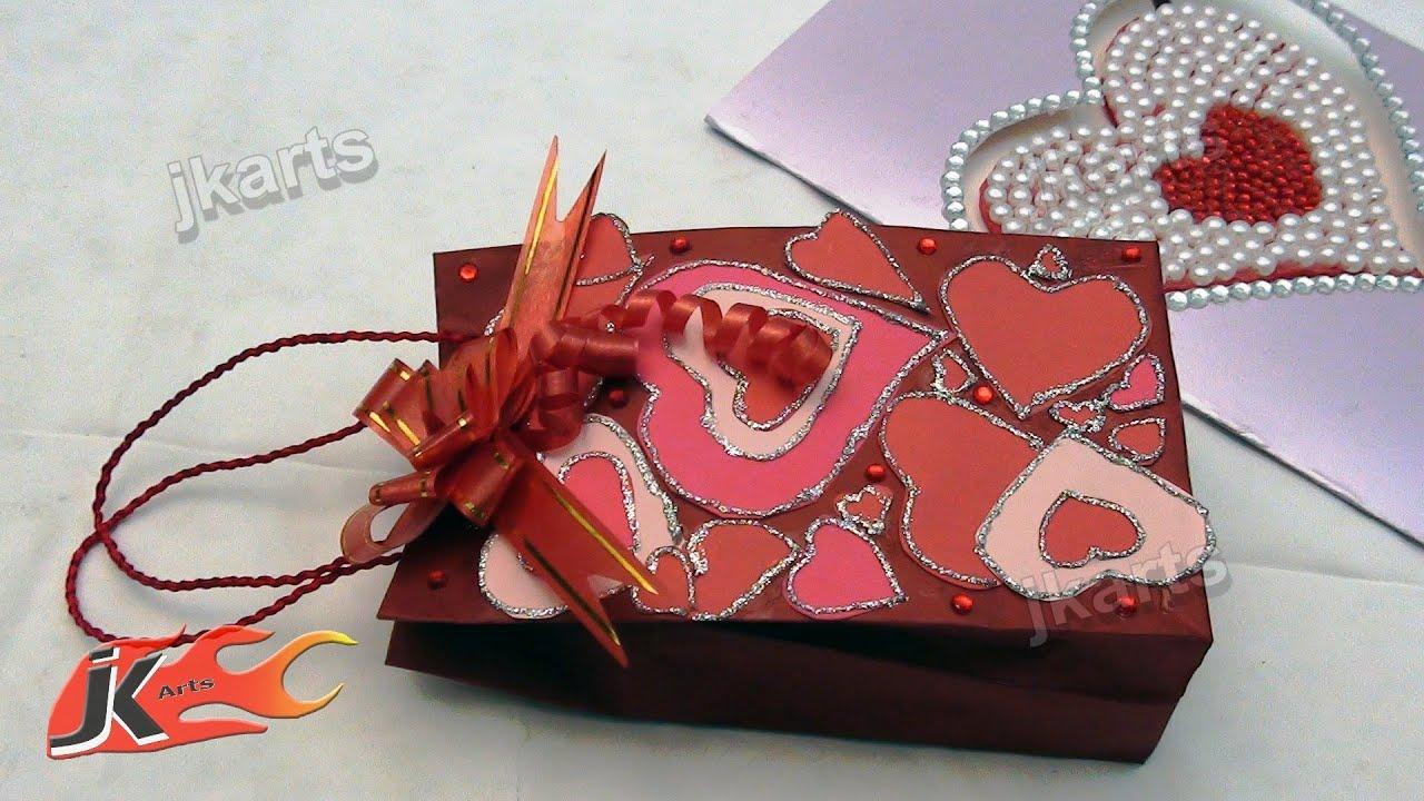 Diy Chocolate Bag Valentines Day Gift Idea 2 Jk Arts 135 Youtube