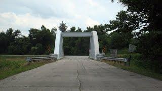 Brush Creek Rainbow Bridge, Route 66 in Kansas