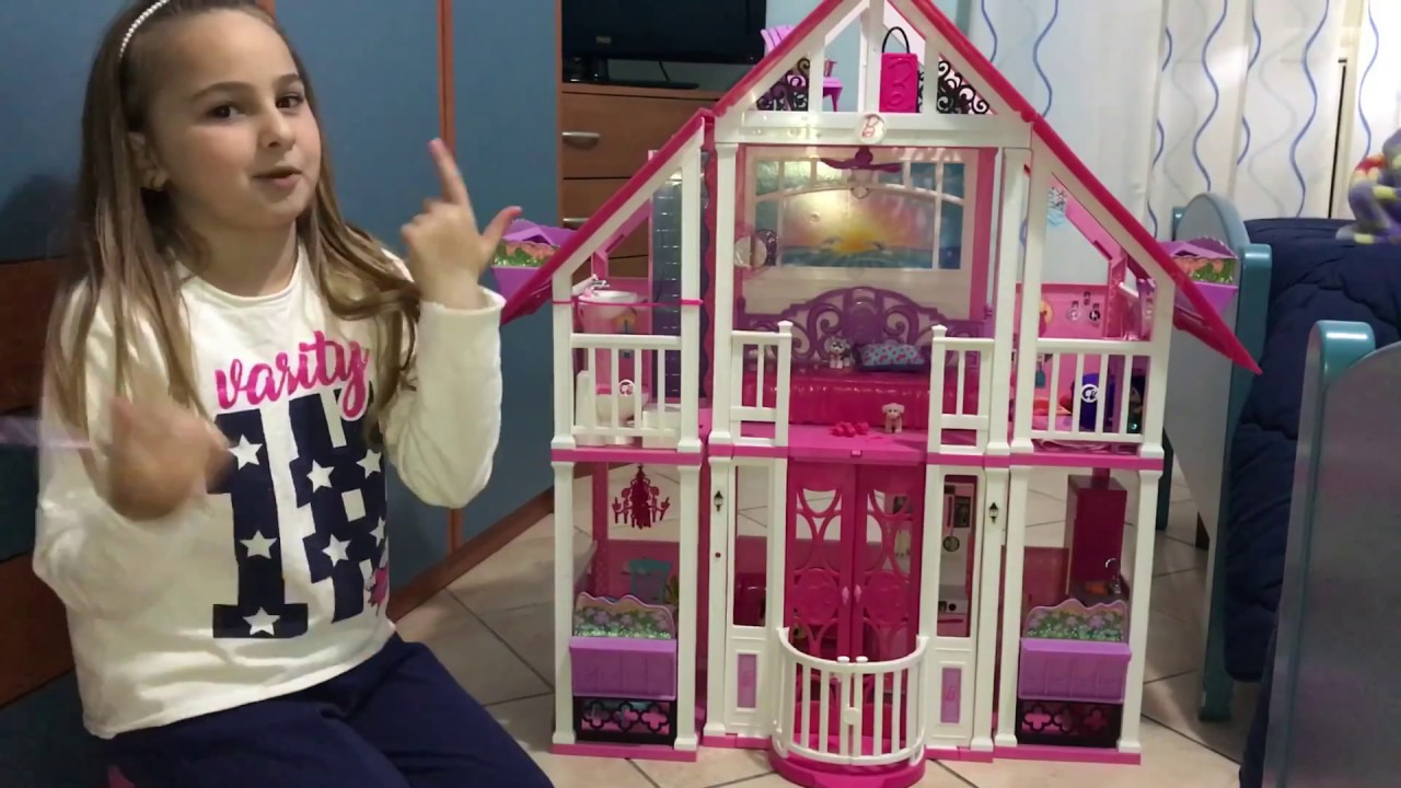 La casa di malib di barbiee youtube for Casa di barbie youtube