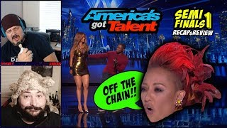AGT Semi-Finals 1: Revenge of Variety & Preacher Roasts Tyra!