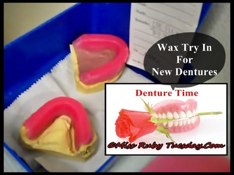 Miss Ruby Tuesday Denture Time Wax Try In For New