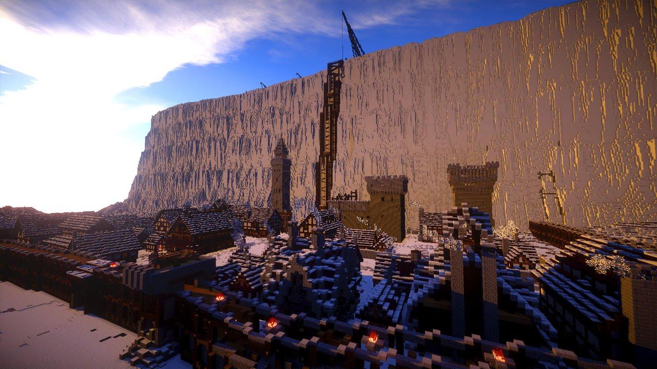 Castle Black Schwarze Festung Game Of Thrones Minecraft Megabuild YouTube