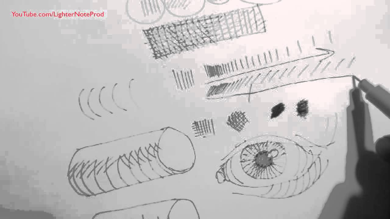 Line Drawing With Shading : Pen ink drawing tutorials shading tips when with