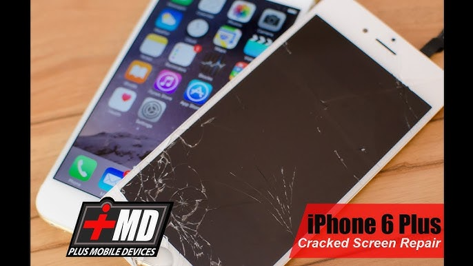 How To Iphone 6 Plus Screen Repair Video Easy Youtube