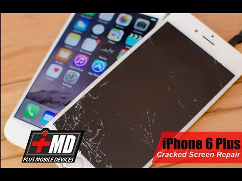 IPhone 6 Plus Cracked Screen Repair