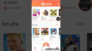 #VOCÊSÁBIA * how to install the aptoide and aptoide installs fortnite and the minecraft ⚠ 👁!!