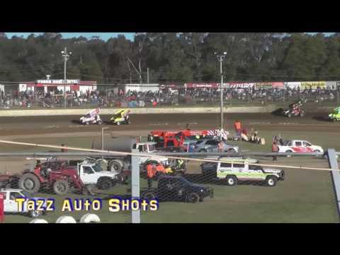 Sprintcars Heat 1 Gulf Western & Independent Oils Raceway Latrobe 3/12/16