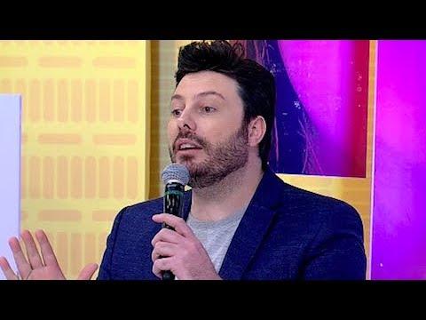 Danilo Gentili fica indignado ao descobrir segredo da namorada