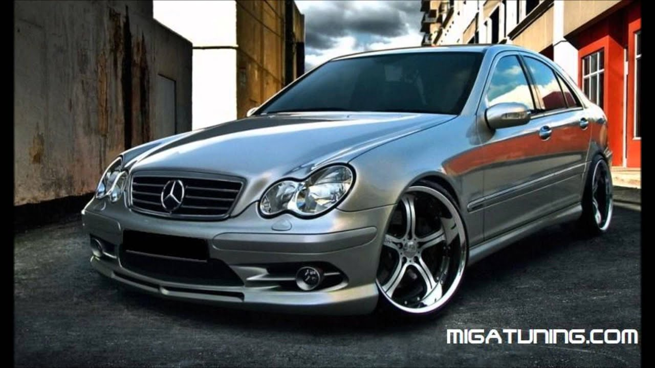 mercedes c class w203 tuning amg body kit youtube. Black Bedroom Furniture Sets. Home Design Ideas