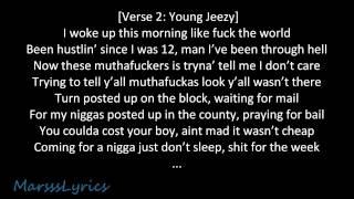 Kendrick Lamar Ft. Young Jeezy - Westside, Right On Time (Lyrics)