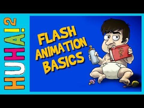 Ep 1: Flash Animation Basics | Happy Harry's HuHa 2 How-Tos!