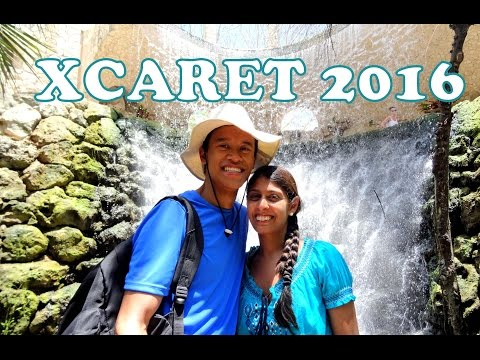XCARET Eco Park Mexico 2016 + End Show (Full HD)