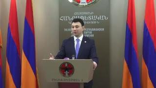 12.04.17 Live. ՀՀԿ նիստից հետո