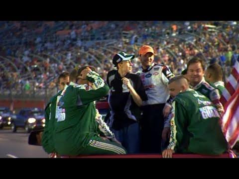 My Wish: Dale Earnhardt, Jr. Races Go Karts with Jeffrey