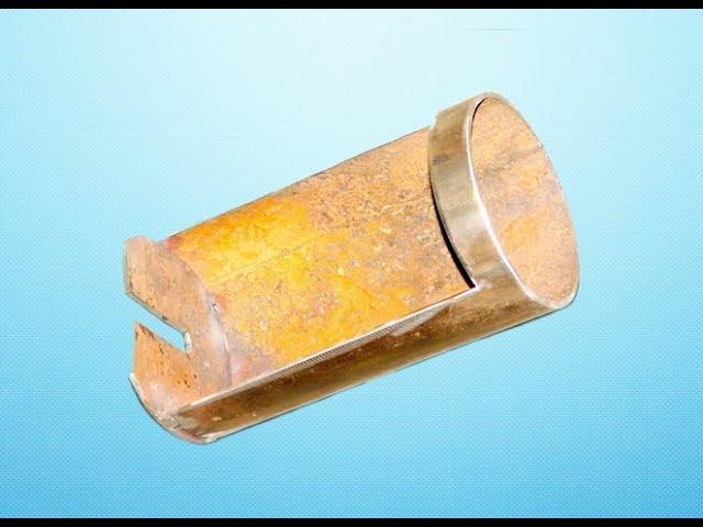 Очень полезное приспособление из ржавого обрезка трубы! Классная идея!