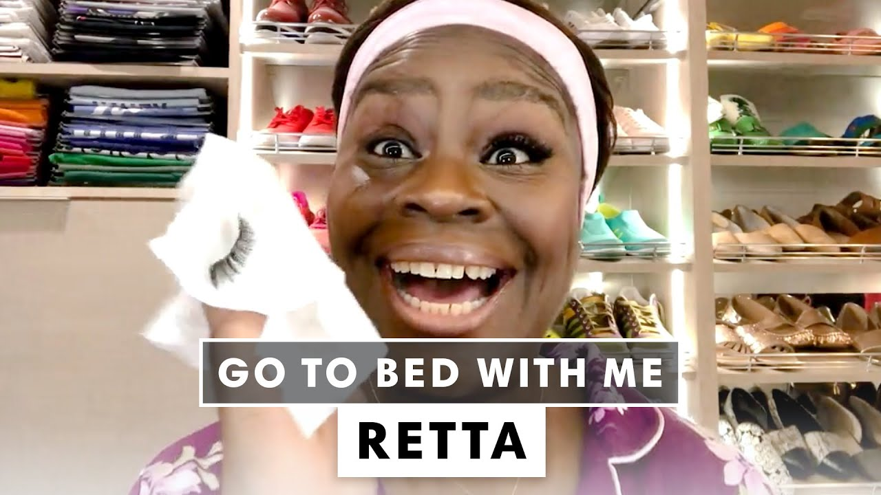 Retta's Hydrating Nighttime Skincare Routine | Go To Bed With Me | Harper's BAZAAR
