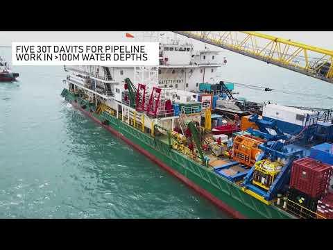 POSH Natuna: Purpose-built Subsea Construction and Installation Vessel