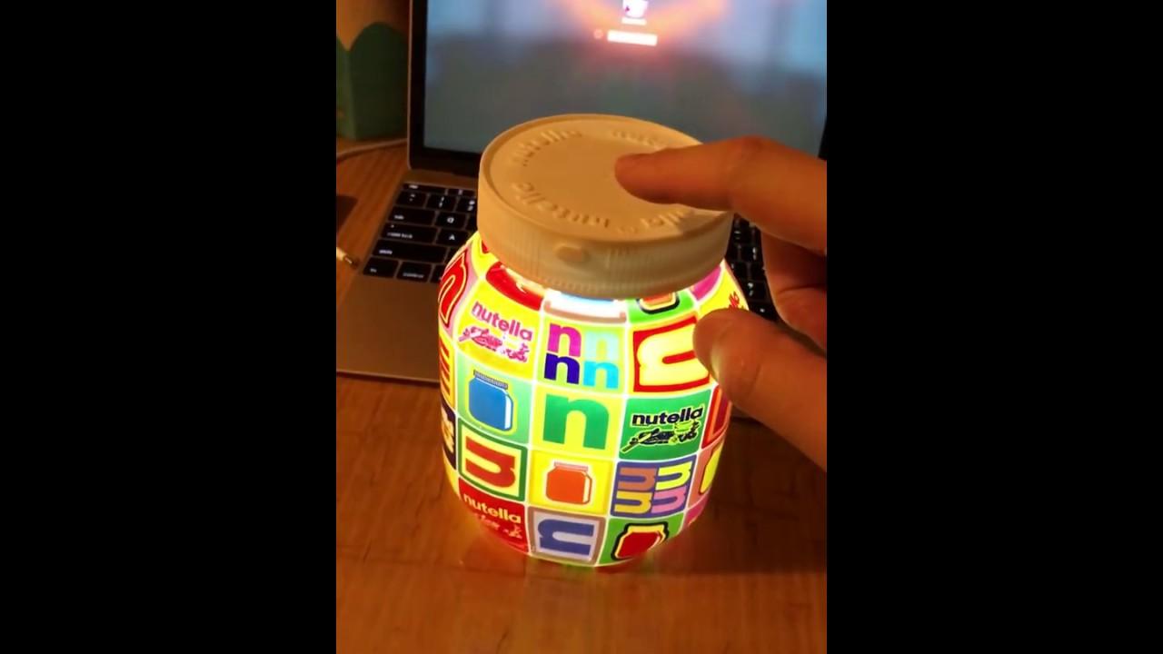 Lampada Barattolo Nutella Concorso : Concorso lampada nutella u2013 idea dimmagine di decorazione