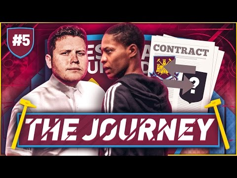 FIFA 17 THE JOURNEY #5 | WHAT CLUB DO WE SIGN FOR?!?!