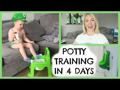 Thumbnail: POTTY TRAINING TIPS | POTTY TRAINING IN 4 DAYS