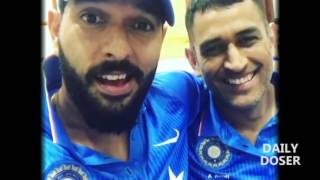 Dhoni & Yuvraj Speak About Each Other After DHONI's Last Match As Captain