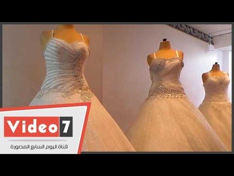 ea860d460  تعرف على أغرب المشاكل فى تأجير فساتين الزفاف - YouTube