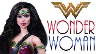 Wonder Woman Doll Repaint [ WONDER WOMAN THE MOVIE ]