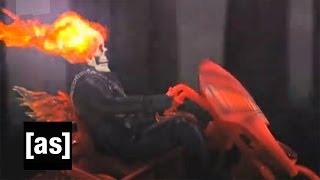 Ghost on Fire | Robot Chicken | Adult Swim