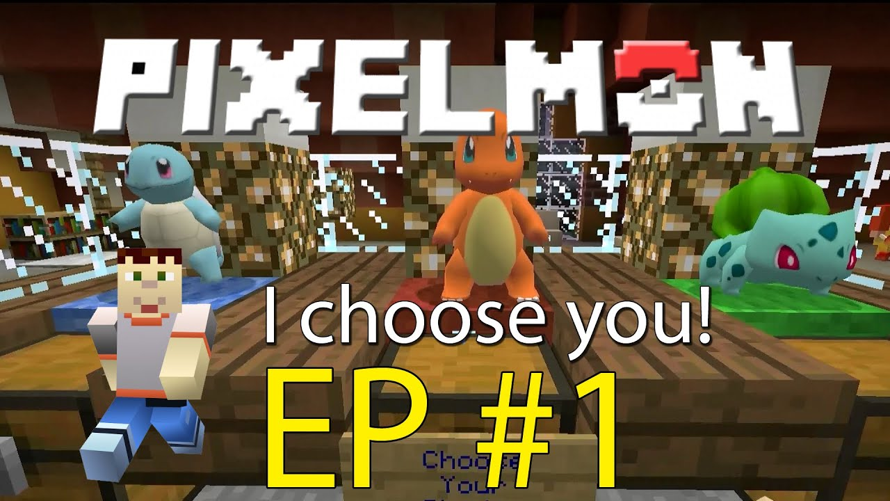 Minecraft charmander i choose you pixelmon episode 1 - Pixelmon ep 1 charmander ...