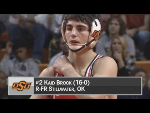 Cowboy Wresting vs. South Dakota State