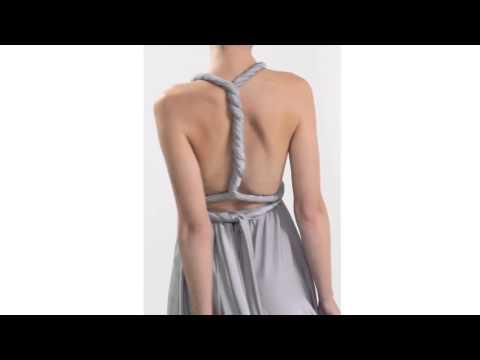 Twist & Wrap Dress  Платье-трансформер Инфинити короткое, длинное  15 вариантов завязывания