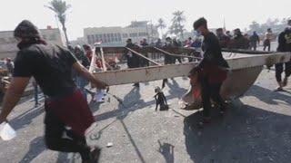 Al menos 12 muertos en 48 horas tras reavivarse las protestas en Irak
