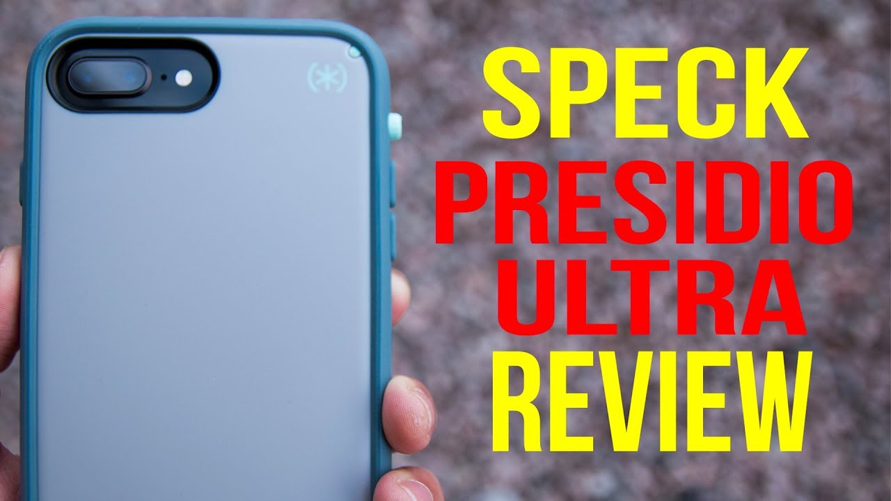 watch 748b0 9092b BEST OTTERBOX DEFENDER ALTERNATIVE?! - Speck Presidio Ultra Case for iPhone  8 Plus Review