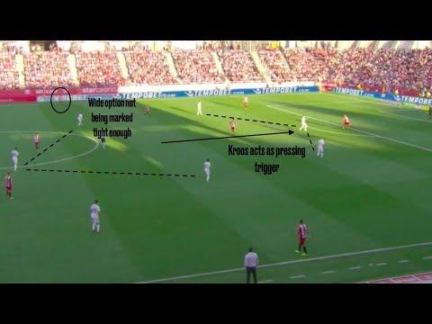 Tactical Analysis   Real Madrid's Poor Pressing vs. Girona FC (10/29/17)