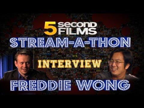 5SF Stream-A-Thon Highlight - Interview w/ Freddie Wong