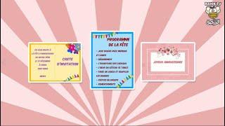Joyeux Anniversaire La Fete D Anniversaire Projet 2 Sequence 3 4ap Youtube Cute766