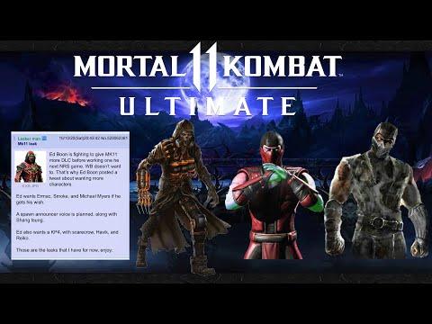 Mortal Kombat 11 - Kombat Pack 4 LEAK! |