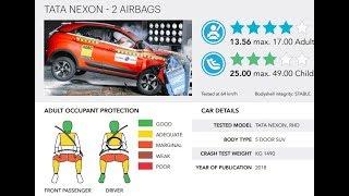Tata Nexon 4 Star Safety Crash Test Rating with Global NCAP