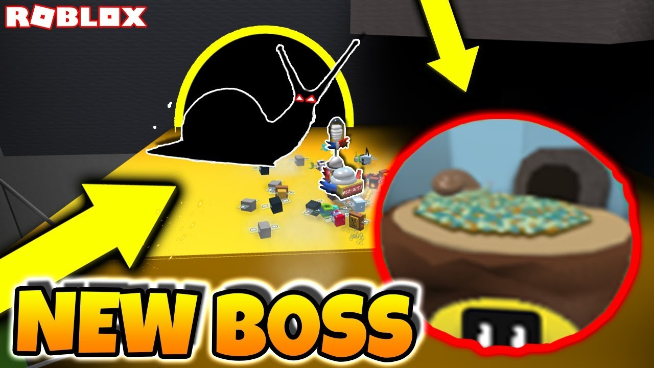 New Gifted Snail Boss Tree Stump Zone Roblox Bee Swarm