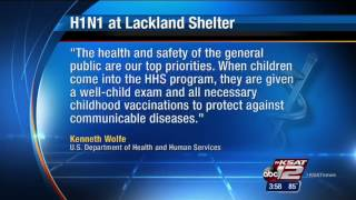 Illegal Immigrant child at Lackland diagnosed with H1N1 Virus