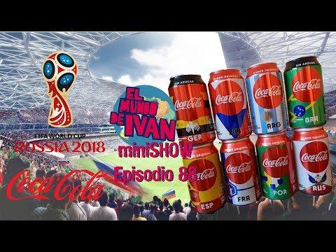 Rusia World Cup  Coca Cola Latas Edicion Limitada Guatemala (2018)