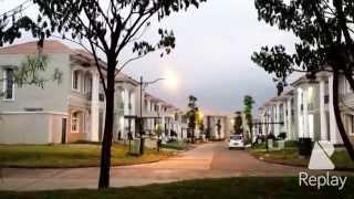 Lippo cikarang . Klaster GREENWOOD dan OAKWOOD. West Java Indonesia