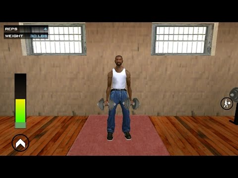 Workout gym in gta San-andreas mission