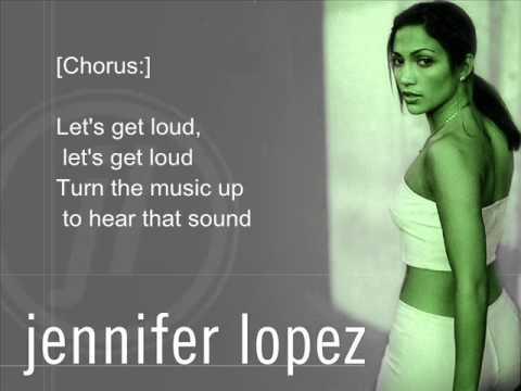 Let get loud jennifer lopez lyrics