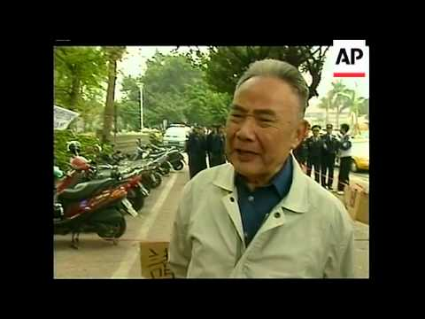 TAIWAN: OUTGOING PRESIDENT LEE RESIGNATION LATEST