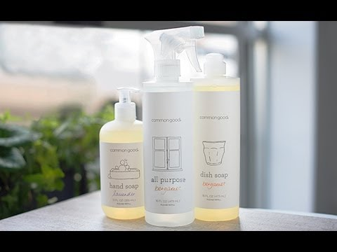 Common Good - Green Cleaning Products