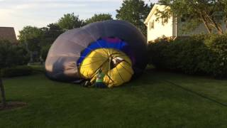 Goodnight Gracie balloon makes Frankenmuth backyard landing
