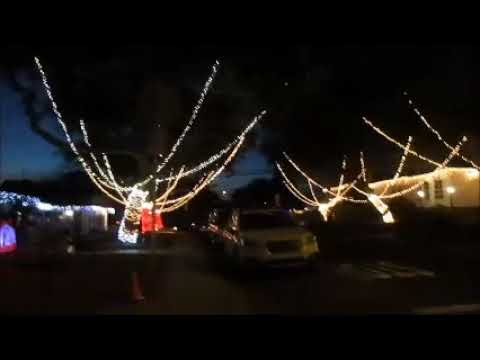 sleepy hollow christmas lights light 2017 torrance california candy cane lane walking tour - Christmas Lights In Torrance