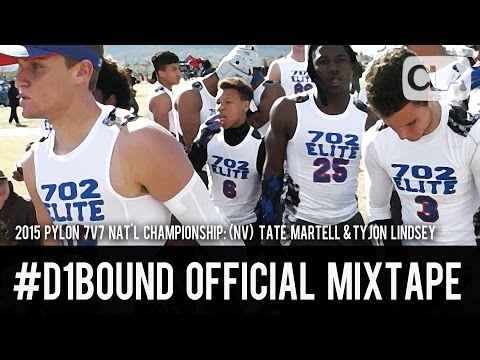 Tate Martell & Tyjon Lindsey (Pylon 7v7 Vegas): #D1Bound Official Mixtape - CollegeLevelAthletes.com